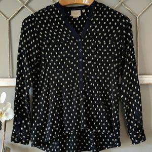 Anthropologie Vanessa Virginia Honore blouse